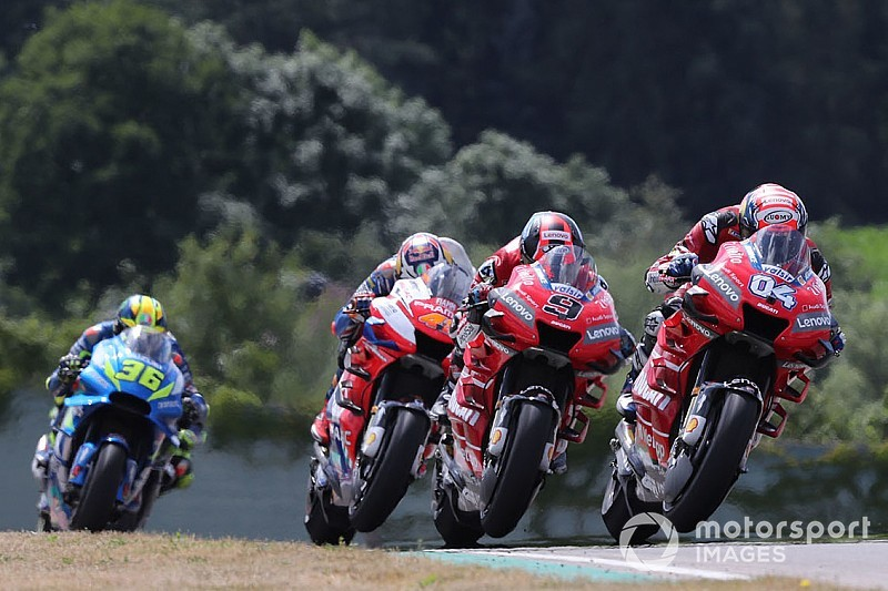 MotoGP: Dovizioso diz que Ducati evoluiu menos que equipes rivais