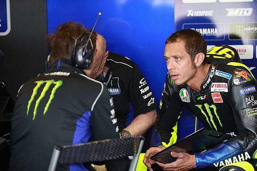 Rossi voit l'arrivée, mais déplore son manque de performance