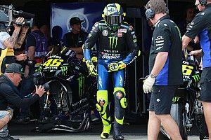 """Rossi: """"El podio está difícil, los de delante van más rápido que yo"""""""