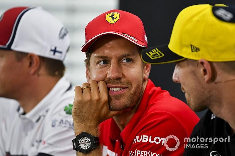 """Vettel: """"Hulkenberg bunu hak etmiyor"""""""