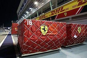 Poprawki Ferrari na GP Singapuru