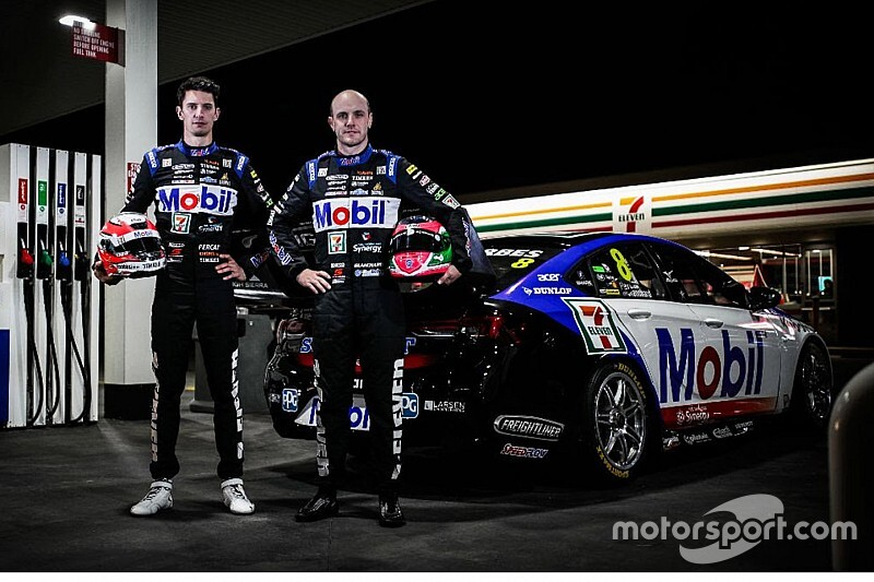 Mobil colours for Percat/Blanchard Bathurst entry