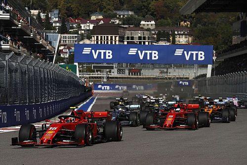 Veja a linha do tempo do GP da Rússia de Fórmula 1