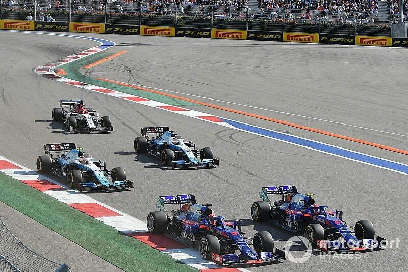 Galeria zdjęć: Kubica podczas GP Rosji