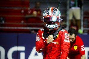 """A Ferrari """"őrült"""" öröme Leclerc szingapúri rajtelsőségére"""