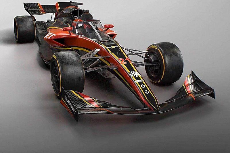 La F1 2021 a fait ses débuts en soufflerie