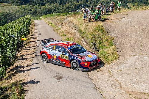 "WRC, Rally Germania, PS6: Tanak batte Neuville di 1"". Sordo 4°"