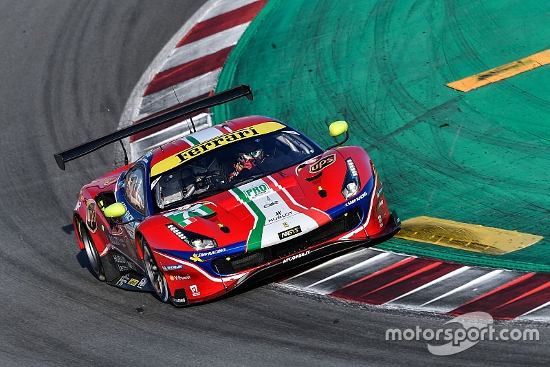 Molina replaces Bird in Ferrari WEC line-up