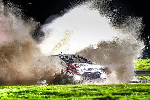 Rally GB WRC: Tanak surges into lead, Meeke falls back