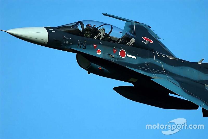 MotoGP日本GP、航空自衛隊「F-2B」による歓迎フライトを実施