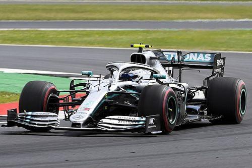 英国大奖赛FP2:博塔斯力压汉密尔顿居首