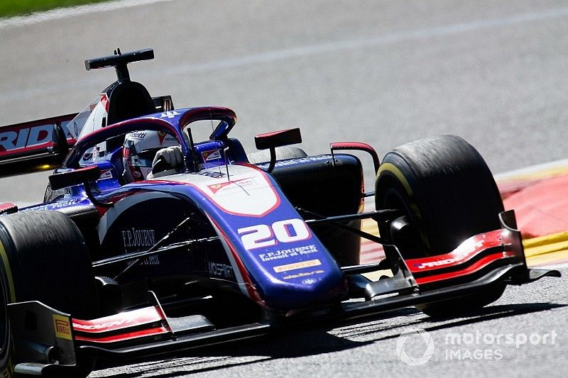 Alesi's F2 car impounded after Hubert's fatal Spa crash