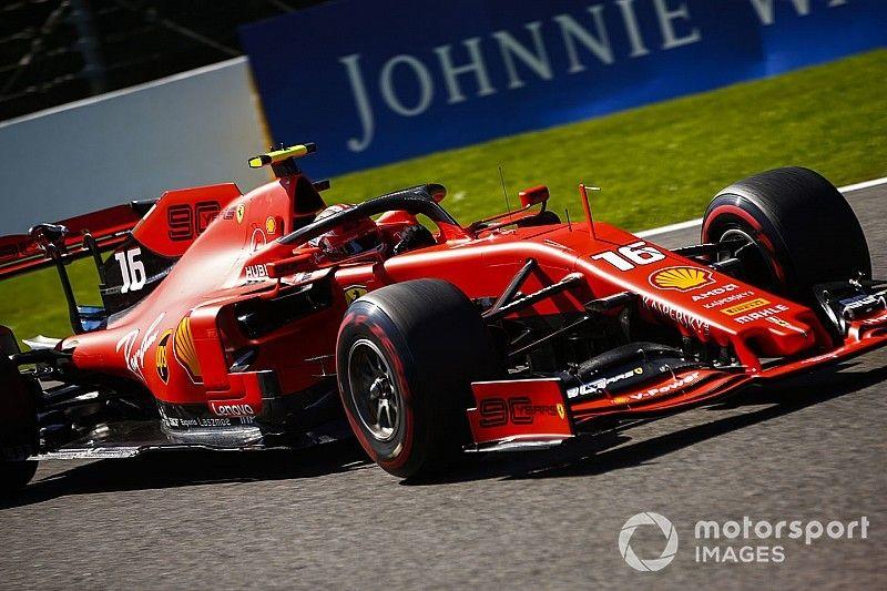 Leclerc faz melhor tempo em novo treino dominado pela Ferrari na Bélgica