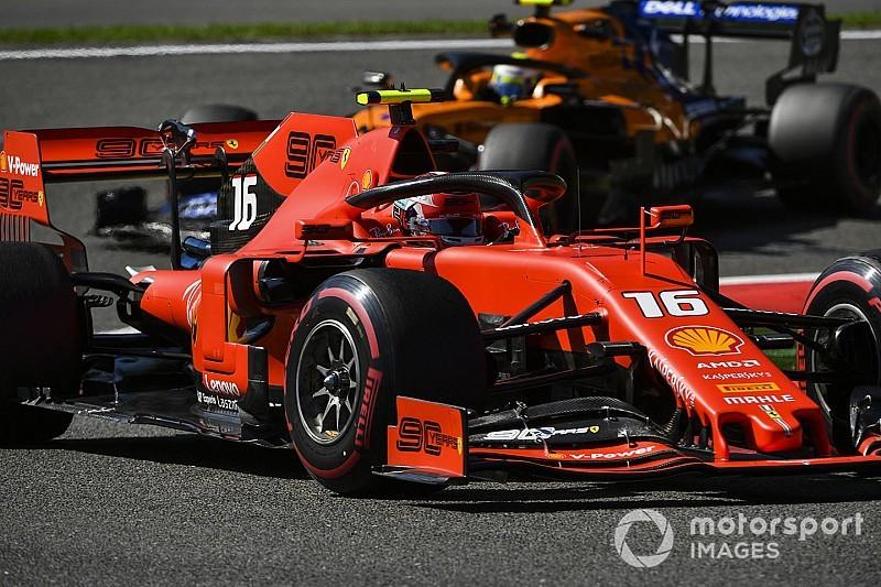 Belçika GP 3. antrenman: Leclerc lider, Hamilton kaza yaptı!