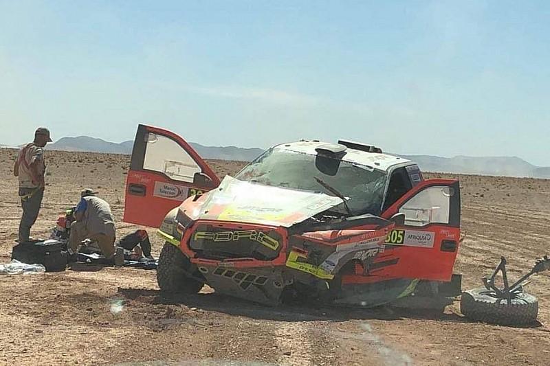 Ciężki wypadek Prokopa