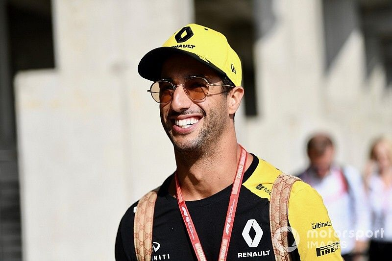 """Ricciardo n'est """"pas déprimé"""" chez Renault malgré les difficultés"""