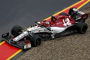 """Räikkönen juge """"ridicules"""" les difficultés des F1 sous la pluie"""