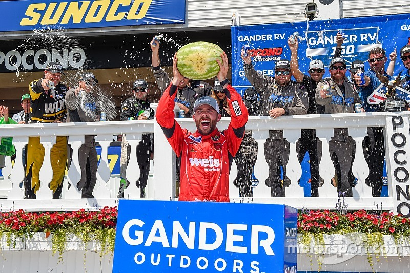 Ross Chastain takes dominating NASCAR Truck win at Pocono