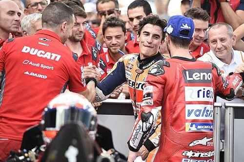 """Petrucci: """"Ducati está luchando contra el piloto más fuerte de la historia"""""""