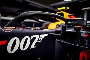 Red Bull Racing rijdt in Engeland met speciale James Bond-livery