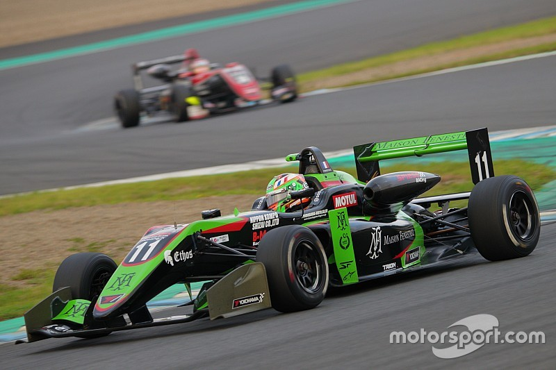 Ex-Renault junior Fenestraz crowned Japanese F3 champion