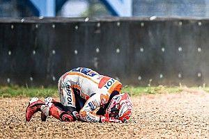 """Márquez: """"Esta es una de esas caídas en las que te haces daño"""""""