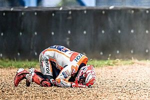 "Marquez ""couldn't breathe"" for five seconds after crash"