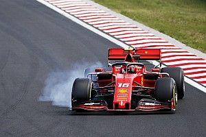 Leclerc lamenta la gran diferencia contra Mercedes en Hungría