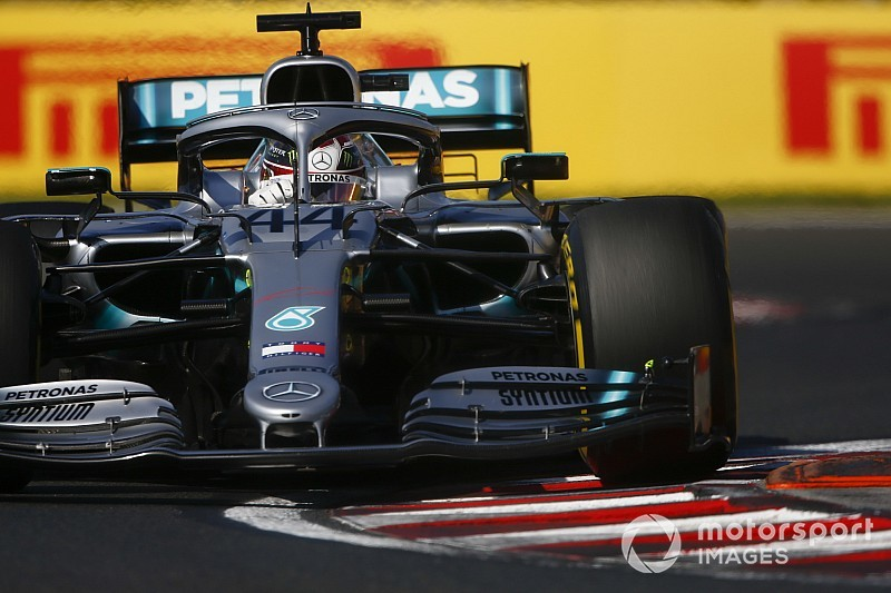 Mercedes had ruled out two-stop strategy before race