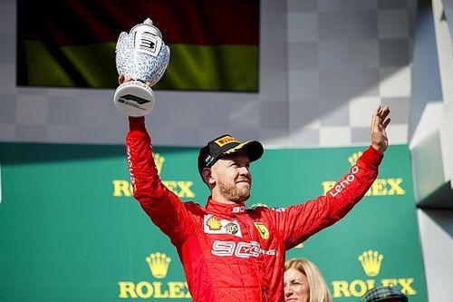 """Vettel: """"YUP! YUP! YUP"""""""