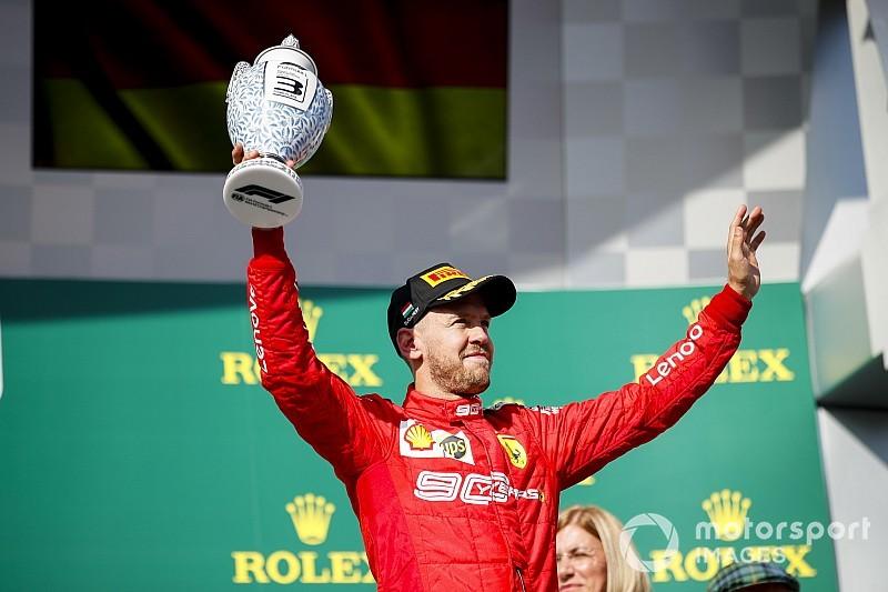"""Ferrari : """"L'objectif de Vettel n'a pas changé"""""""