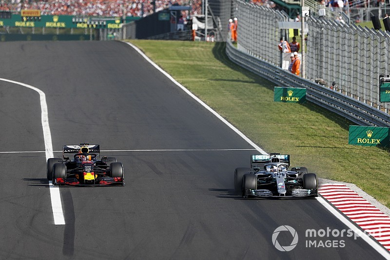 Verstappen: Hongarije bewijst dat Mercedes nog steeds dominant is