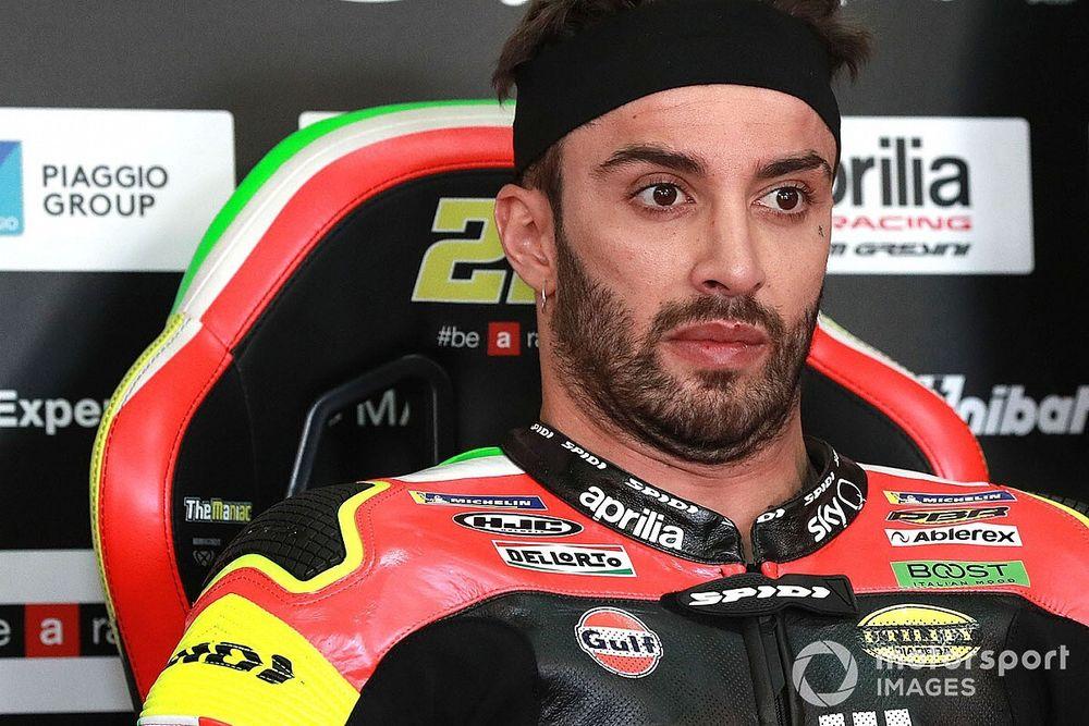 """Iannone: """"Espero que Aprilia haga dos motos que vayan igual"""""""