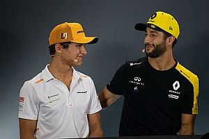 Norris 'niet heel verrast' door Ricciardo's overstap naar McLaren
