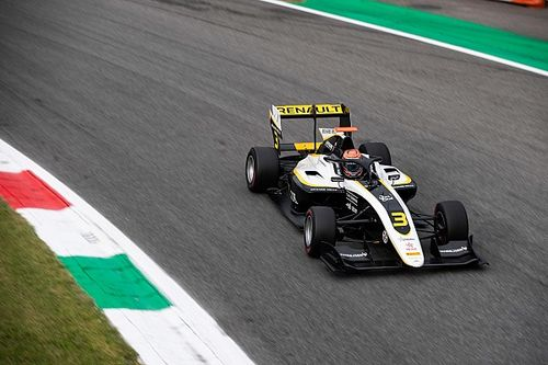 Monza F3 grid reshuffled by grid penalties