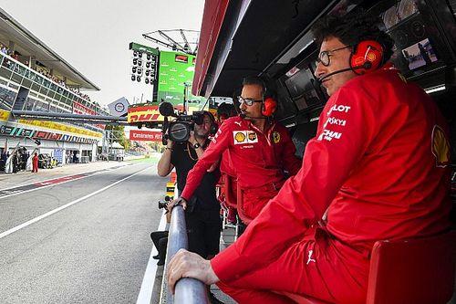 Binotto admite que deberán hablar dentro de Ferrari