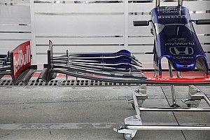 Технический брифинг: переднее крыло Toro Rosso STR14