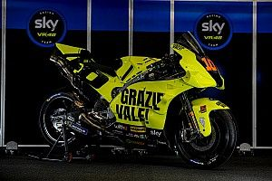 "MotoGP   ""Grazie Vale"", la livrea speciale dello Sky Racing Team VR46"