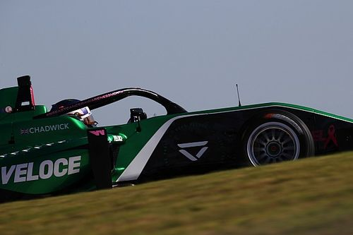 W Series US: Chadwick tops second practice cut short by red flag