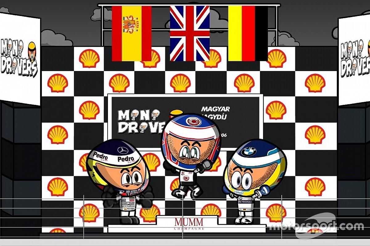 Vídeo: el GP de Hungría 2006 de F1, por los Minis