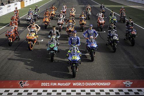 Las fotos del primer día del curso 2021 de MotoGP