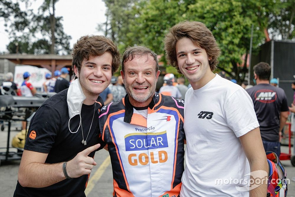 Barrichello fia is Európában fog versenyezni!