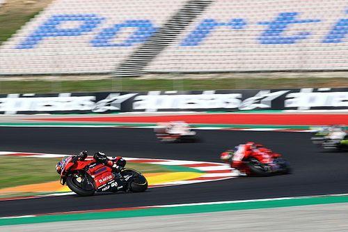 WK-stand na de MotoGP Grand Prix van Portugal