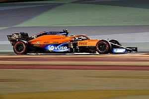 Norris plays down McLaren's pace in Bahrain GP practice