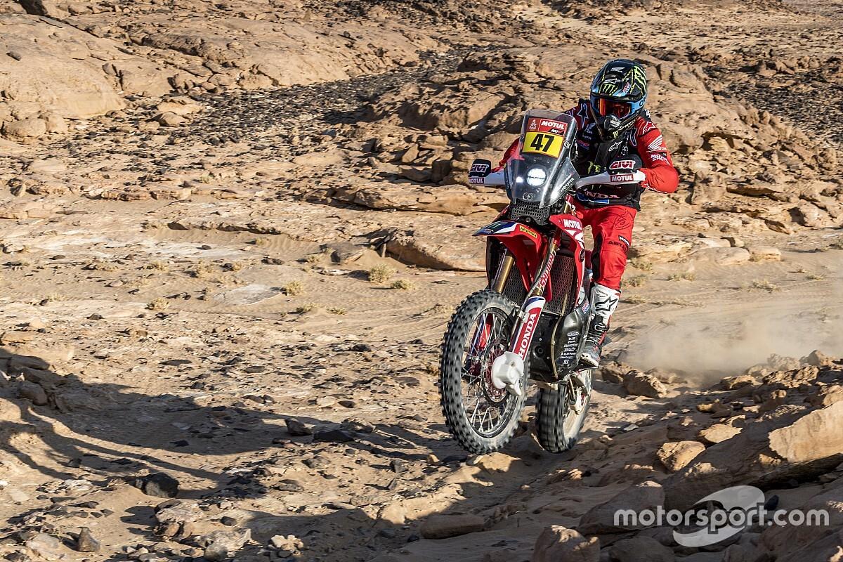 Motos, Étape 5 - Kevin Benavídes fait coup double