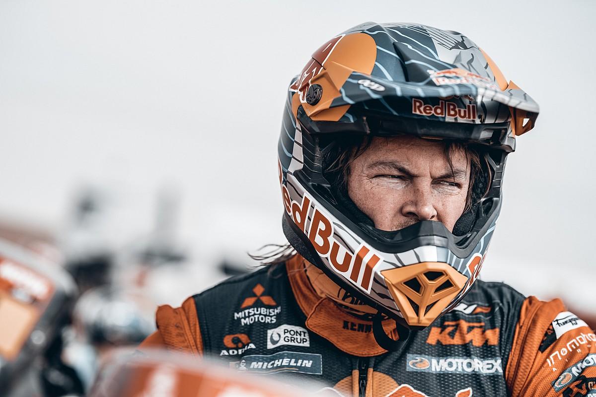 Toby Price s'est fracturé la clavicule sur le Dakar