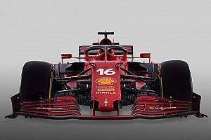 La ficha técnica del Ferrari SF21 de Sainz y Leclerc