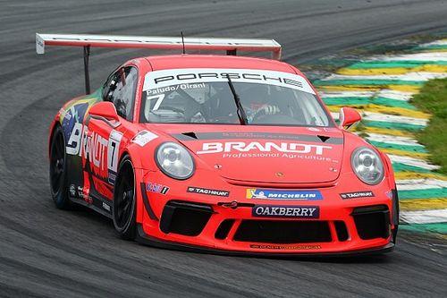 """Porsche Cup: Paludo fala sobre """"sintonia no acerto"""" com Dirani como chave para pole em Interlagos"""