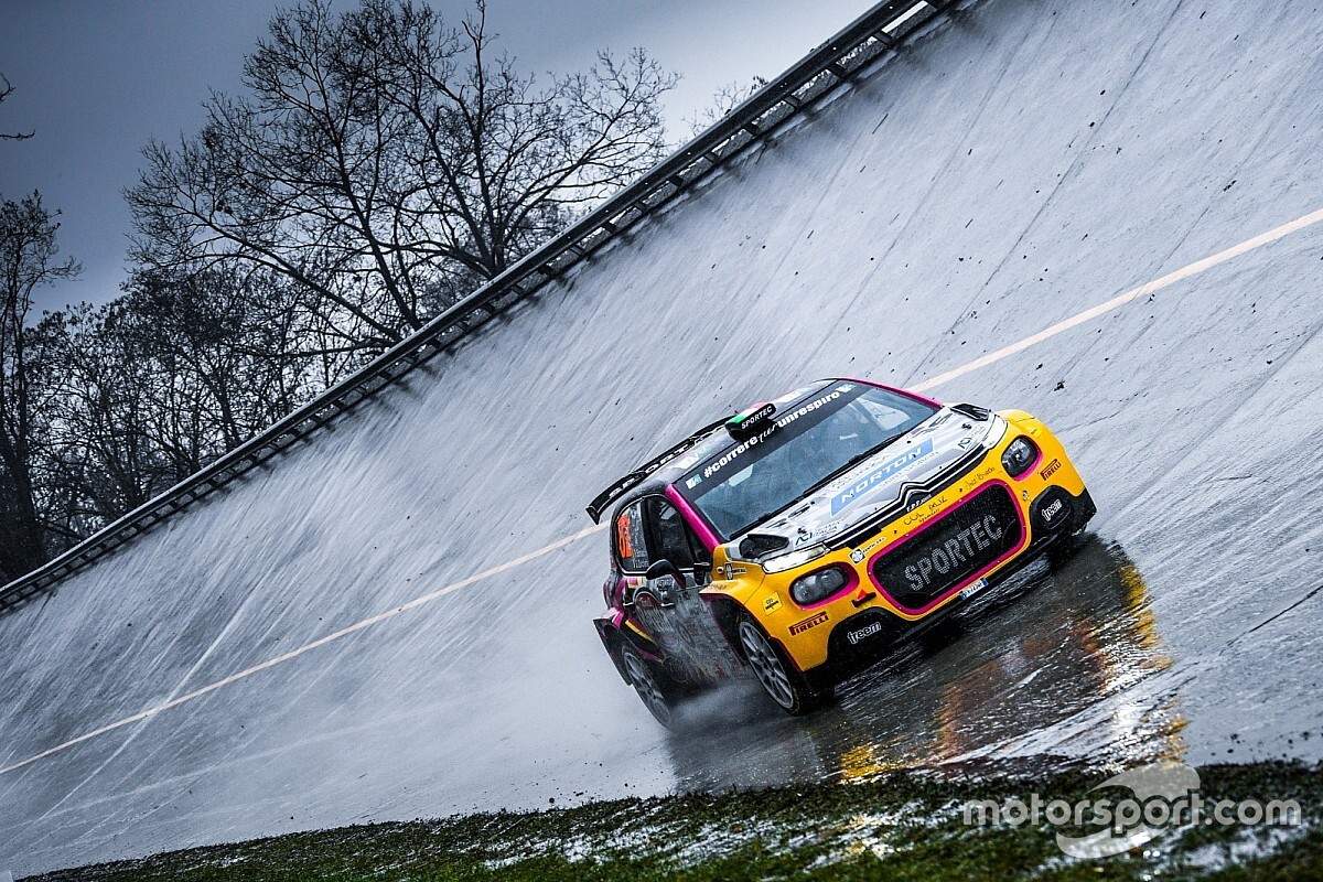 Tanta esperienza per la Somaschini all'ACI Rally Monza WRC