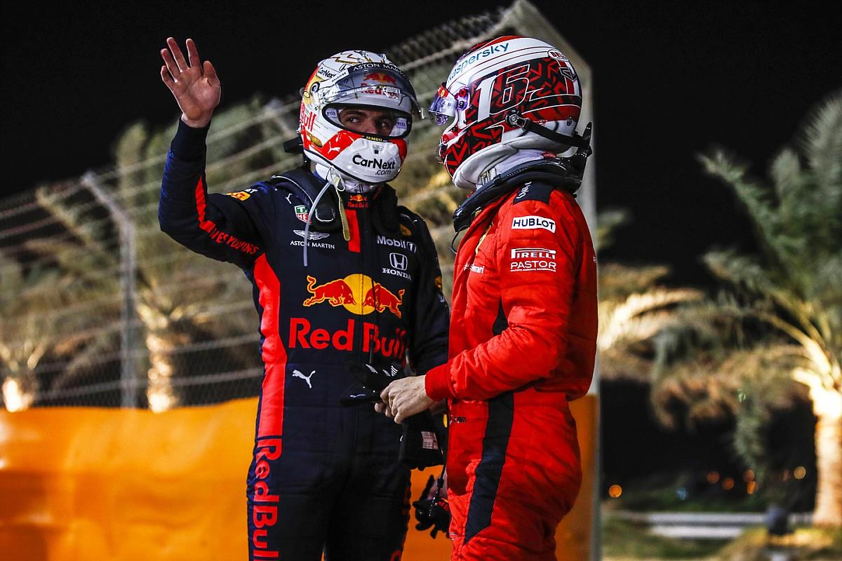 Verstappen, Leclerc'in yarıştan önceki yorumlarına cevap verdi